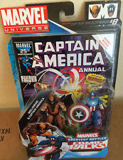 Marvel Comic 2 Pack Wolverine Vs Captain America