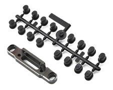 SWX-330639 SWorkz S35 Aluminum Rear Changeable Lower Arm Holder (2.5D) (LE)