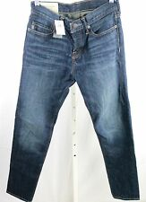 NWT Abercrombie & Fitch Dark Wash Denim Classic Taper Jeans - Men's 26 x 30