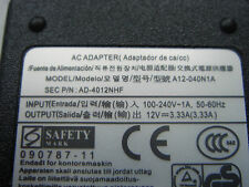 Alimentation D'ORIGINE SAMSUNG 12V 3,33A ATIV Smart PC 500T1C 500T GENUINE
