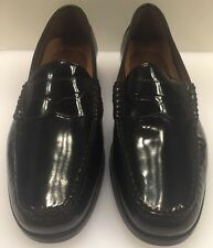Johnston Murphy Pannell Penny Loafer Black Leather Men's 7 M $135 NIB 20-6281