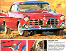 1956 CHRYSLER IMPERIAL 56 ORIGINAL PICTURE PRINT IN EXCELLENT CONDITION