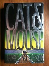 James Patterson CAT & MOUSE 1st HC/dj Alex Cross 1997 L@@K WOW!!!