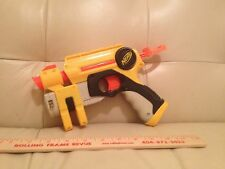 Nerf N Strike EX-3 Night Finder Pistol Black Yellow in working order