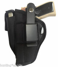 """Nylon gun holster fits Browning Compact 1911 22 w 3 5/8"""" barrel use L or R hand"""
