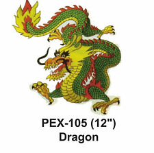 """DRAGON Embroidered Animal Patch (12"""")"""