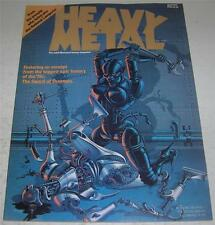 HEAVY METAL MAGAZINE #1 (1977) w/ Subscription insert (VF) Moebius & Vaughn Bode