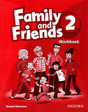 Oxford FAMILY AND FRIENDS 2 Workbook / Naomi Simmons @BRAND NEW@
