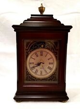 Beautiful Wood Mantle Clock from The Bombay Company-Quartz Mvmnt Works Perfectly