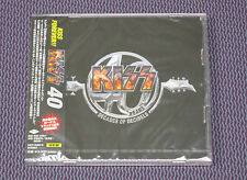 "KISS ""40 YEARS - DECADES OF DECIBELS"" JAPAN 2-CD +1 BNS TRK *SEALED*"