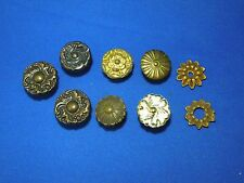 Lot of Various Floral Theme Drawer Handle Knobs-Nice for Steampunk Cosplay Props