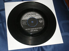 "ANITA BRYANT - IN MY LITTLE CORNER OF THE WORLD  - 1960 LONDON 7"" SINGLE"