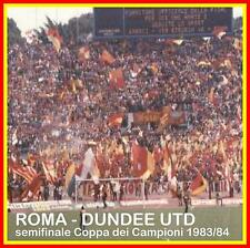 CD CURVA SUD ROMA CUCS in ROMA-DUNDEE UTD 1983/84 - AS ROMA SUPPORTERS SONGS