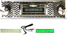 1955 Chevy Bel Air Radio --- Free AUX Cable   Stereo 230 **
