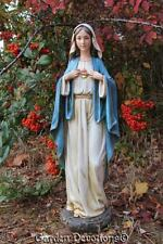"Stunning BEAUTIFUL 10"" IMMACULATE HEART OF MARY STATE Garden (Indoor) Resin NEW!"