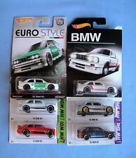 2016 2014 2013 HOT WHEELS  92 BMW  M3 Silver Red Blue Kmart White  WalMart X 6