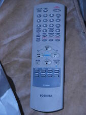 TOSHIBA TV Television VCR VTR player Remote Control