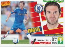 MATA CHELSEA.FC RARE CRACKS MADE IN SPAIN LIMITED EDITION STICKER PANINI 2014