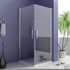900x900mm Frameless shower enclosure 180°  swing pivot glass door corner entry