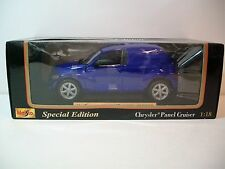 NIB 1:18 Scale Special Edition Blue CHRYSLER PANEL CRUISER Die-cast By Maisto
