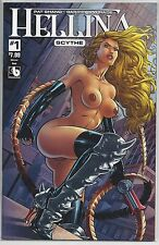 Hellina #1 Scythe Enforcer Nude Risque Variant Cover Boundless Comics
