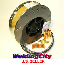 "MIG Gun Accessory Kit & Welding Wire ER70S-6 11-lb 0.035"" for Lincoln Magnum100L"