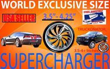 Dodge Hemi V8 5.7 5.9 6.1 Performance Turbo Air Intake Supercharger Fan Kit- NEW