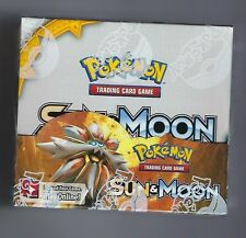 POKEMON TCG SUN AND MOON BOOSTER SEALED BOX  ENGLISH