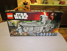 new first order transporter, FIGURES HAVE BEEN REMOVED, lego star wars 75103.