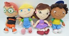 Disney Little Einstein June Leo Quincy Annie Talking Plush Set of 4 12""