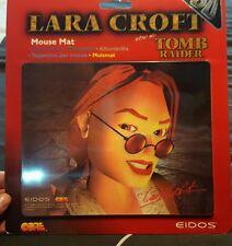 1997 retrò effetto 3D LARA CROFT TOMB RAIDER TAPPETINO MOUSE NUOVO di zecca SIGILLATI