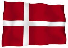 Adesivo Auto Sticker Tuning Moto Auto Stickers Bandiera Bandiera Danimarca