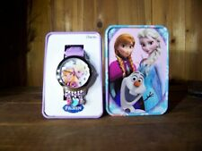 DISNEY FROZEN CHARM WATCH COLLECTIBLE CHILDRENS JEWELRY NEW KIDS APPAREL FUN
