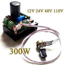 12V 24V 48V 110V 300W DC motor speed controller PWM MACH3 spindle governor pumps