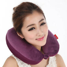 1PC Memory Foam U Shape Travel Pillow Neck Support Head Rest Car Seat CushionVNC