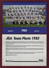1985 New York Mets 7x5-inch Team Photo/1992 Fugi & WIZ home entertainment center