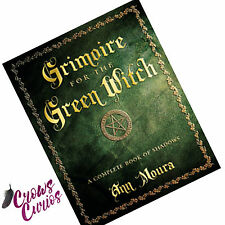 Book GRIMOIRE FOR THE GREEN WITCH by Ann Moura Complete Book of Shadows Wicca