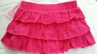 Circo Infant Girl Tiered Scooter Skirt  perfect 4 Dressup Shorts attached 4T