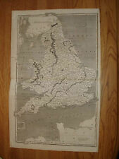 1820 ANTIQUE ARROWSMITH MAP ENGLAND WALES Superb NR