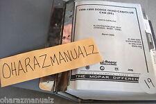 1998 1999 MOPAR Dodge Quad Cab / Club Cab (BE) Parts Catalog Manual