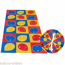 Colourful Balloons Children's Birthday Party Bend & Twist Floor Game