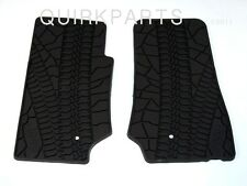 2007-2015 Jeep Wrangler 2 Door Slush Mats Gray Set 2 MOPAR GENUINE OEM NEW