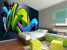 Graffiti Background Wall Mural Photo Wallpaper GIANT DECOR Paper Poster