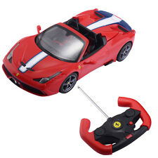 1:14 Ferrari 458 Speciale A Licensed Radio Remote Control RC Car w/Lights Red