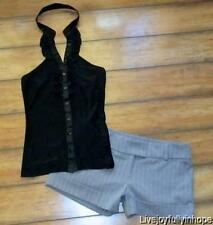 UNIT NO APPOINTMENT NECESSARY ~ New! Size 7 Small ~ Ruffle Halter & Dress Shorts