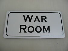 WAR ROOM Vintage Style Metal Sign 4 Army Marine Military Collection Reenactor