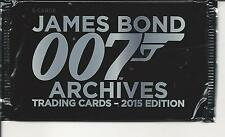 James bond archives '15 edition, trading cards  pack