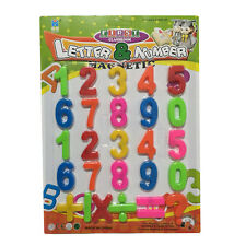 Children Kids Learning Plastic Numbers Magnetic Kids Toys Brand New Gift