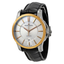 Maurice Lacroix Date Automatic Dial 18Kt Rose Gold Mens Watch PT6148-PS101-130