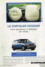 Publicité advertising 1994 Chrysler Voyager